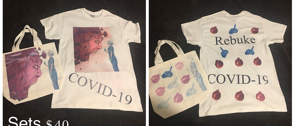 Custom Shirt and Bag (Ink Base)