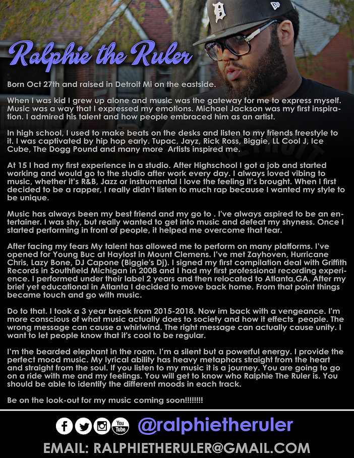 RALPHIE THE VIDEO BIO