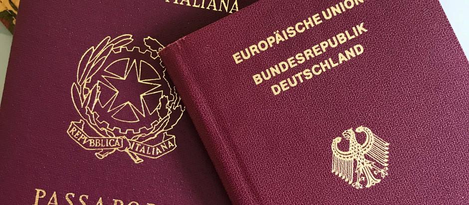 Tenho passaporte italiano. Preciso do brasileiro?