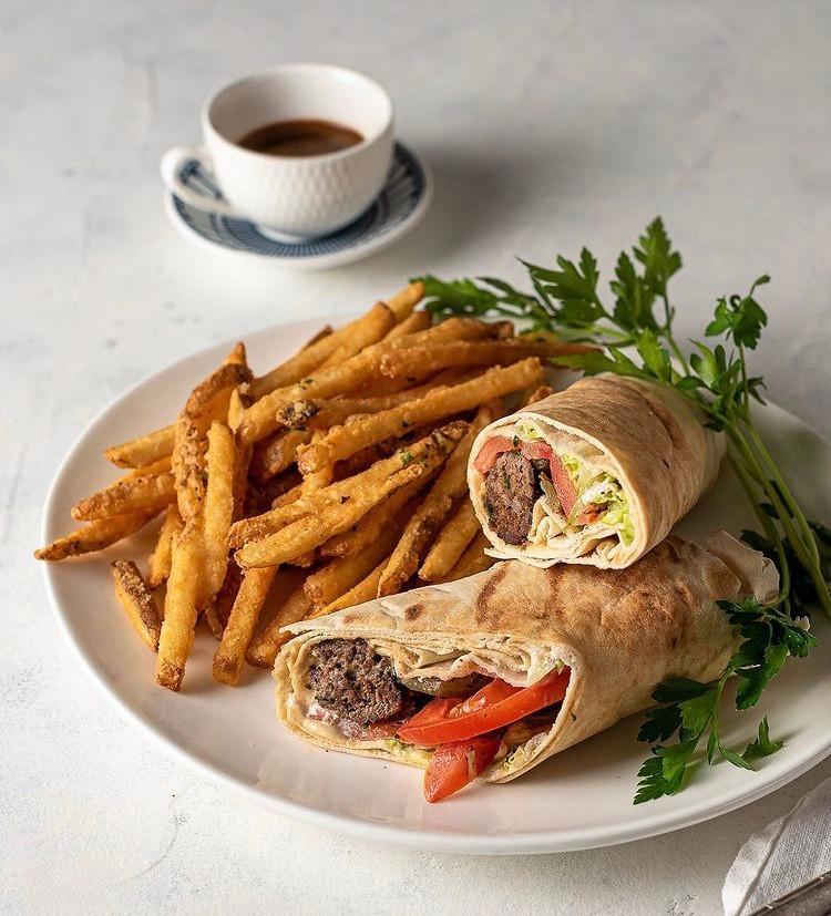 Beef Kofta Sandwich