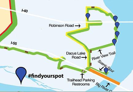 big river trial map