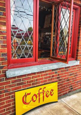 Cafe Walk-up Window