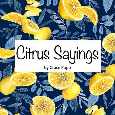 Citrus Sayings