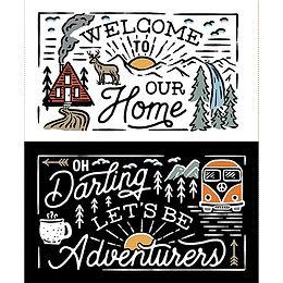 Collection ADVENTURERS, Adventurers Panel - Multi / 66190406P-1