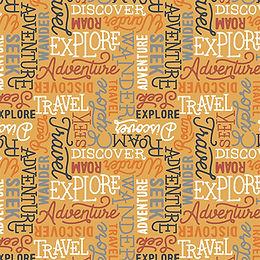 Collection ADVENTURERS, Wanderlust - Mustard / 66190402-2