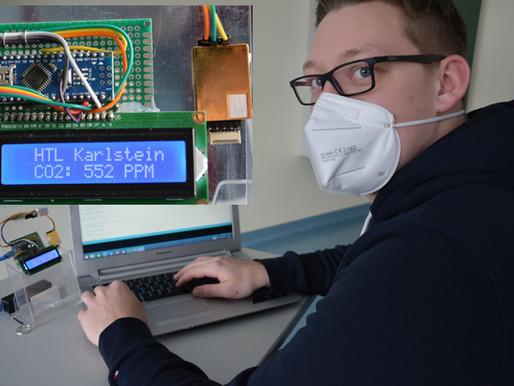 Schüler bauen CO2 Messgeräte
