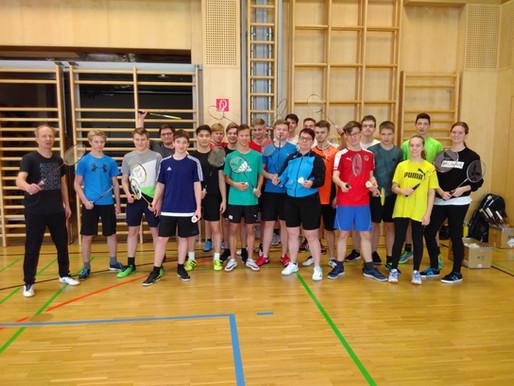 Badminton-Schnuppertraining