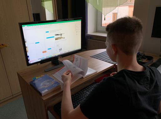 Distance-Learning - unser vorübergehender Schulalltag