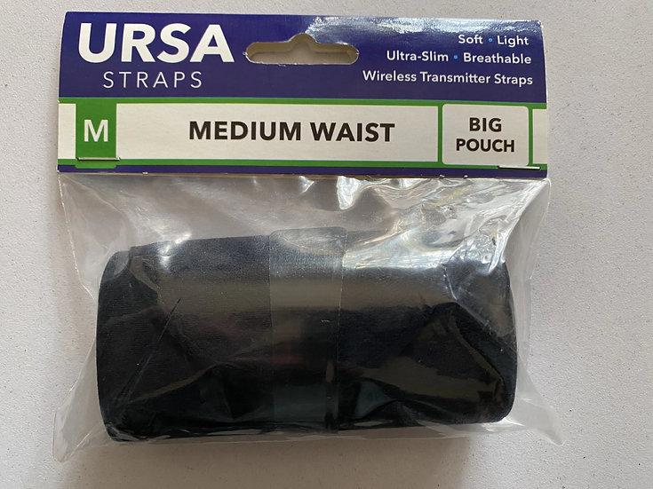 URSA Strap M waist B pouch Black
