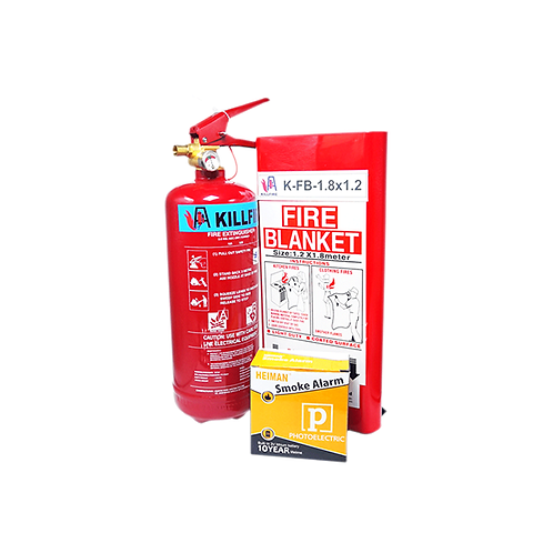 (PRE-ORDER) Homeowner Essentials: 3-in-1 Home Fire Safety Kit