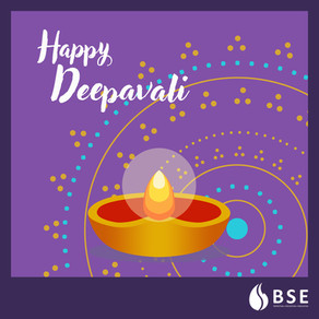 BSE Wishes All Hindus a Happy Deepavali!