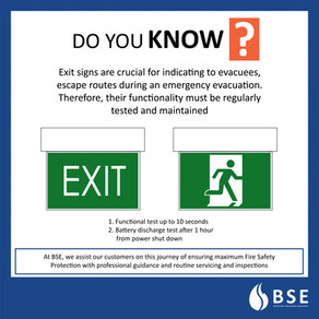 The Exit Sign—A Lifesaving Sign System