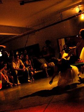 Temporada no porão do SESC Horto, 2009