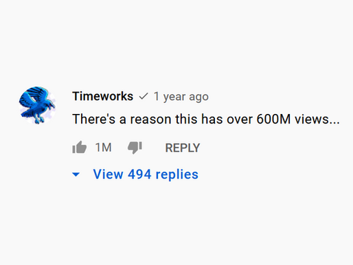 1 Million Likes Comment On YouTube!