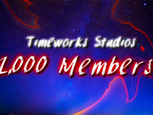 1,000 Discord Members!