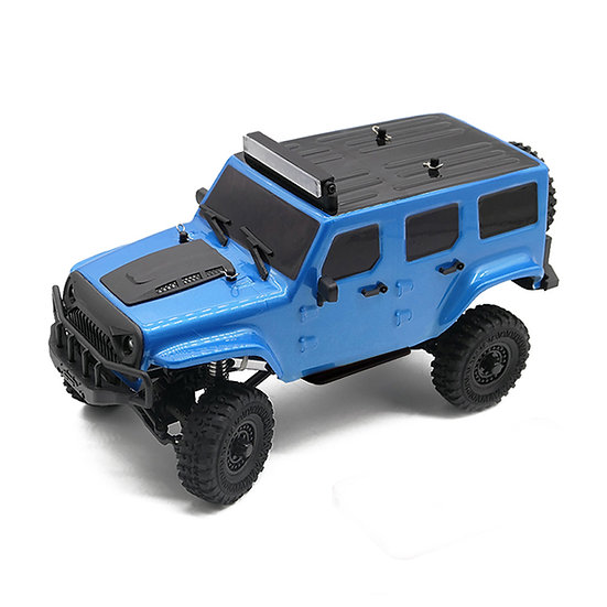 Tetra X1 1/18 Scale Crawler RTR 4WD Off-road Vehicle, Blue