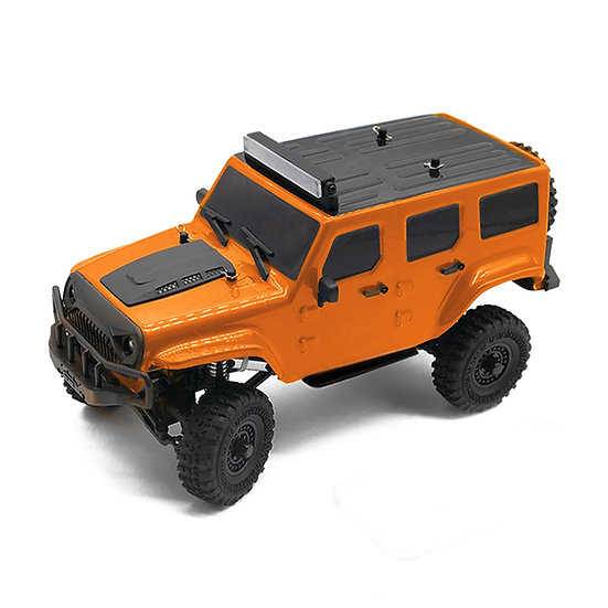 Tetra X1 1/18 Scale Crawler RTR 4WD Off-road Vehicle, Orange