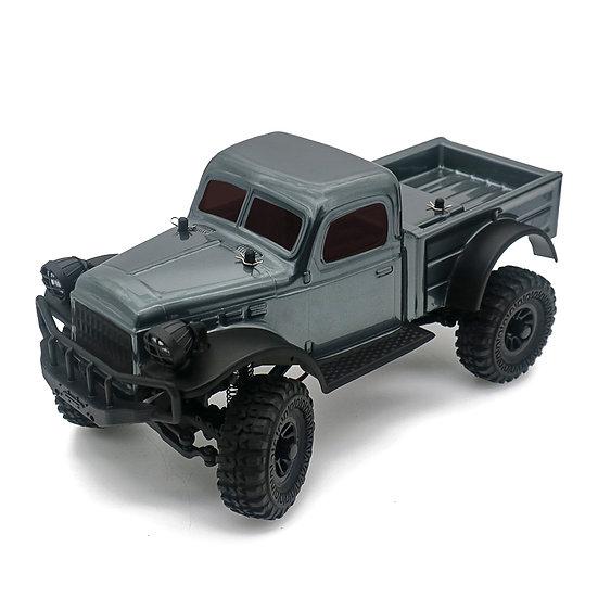 Sport Tetra K1 1/18 Scale Crawler RTR 4WD Off-road Vehicle, , Gunmetal Grey