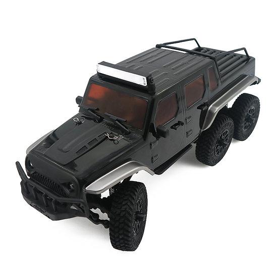 1/18 Tetra18 X1 6X6 RTR Scale Mini Crawler, Black