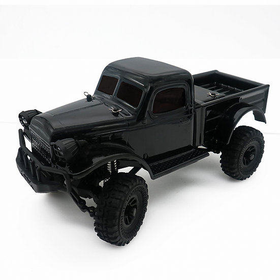Sport Tetra K1 1/18 Scale Crawler RTR 4WD Off-road Vehicle,  Black