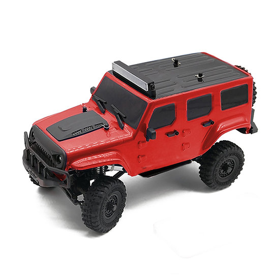 Tetra X1 1/18 Scale Crawler RTR 4WD Off-road Vehicle, Red