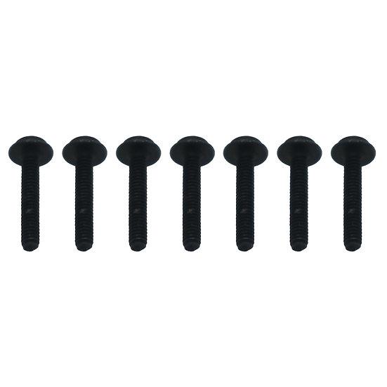 Button Washer Head Hex Screws 2x12mm (8)