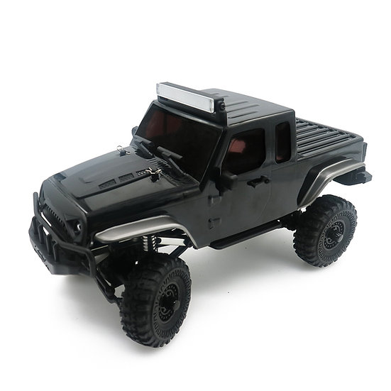 Tetra X1T 1/18 Scale Crawler RTR 4WD Off-road Vehicle, Black