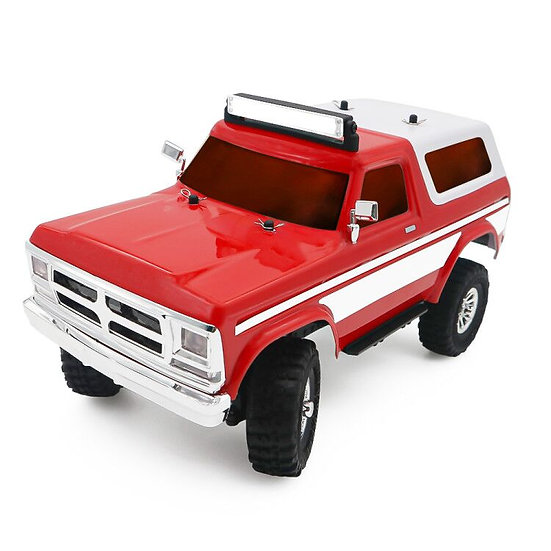 Tetra X2 1/18 Scale Crawler RTR 4WD Off-road Vehicle, Red/White