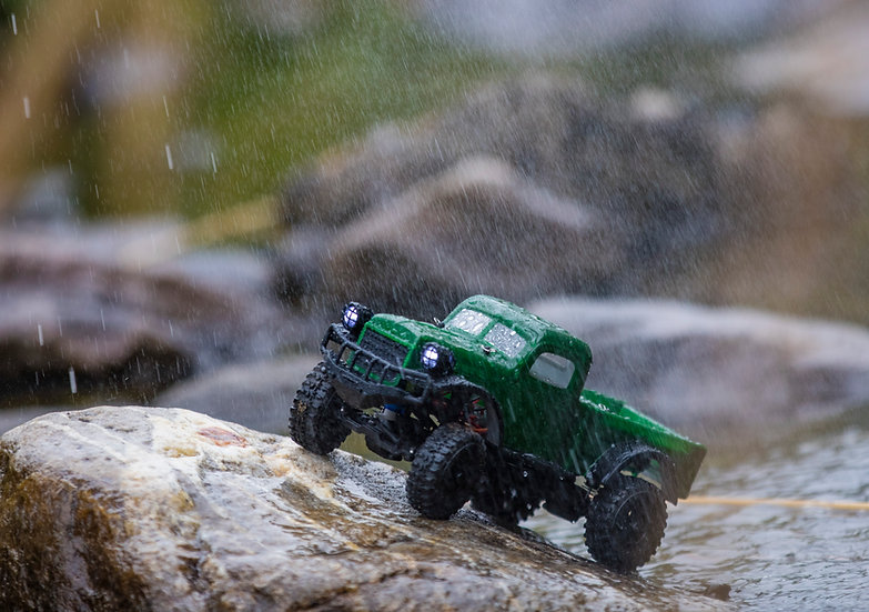 Sport Tetra K1 1/18 Scale Crawler RTR 4WD Off-road Vehicle, Green