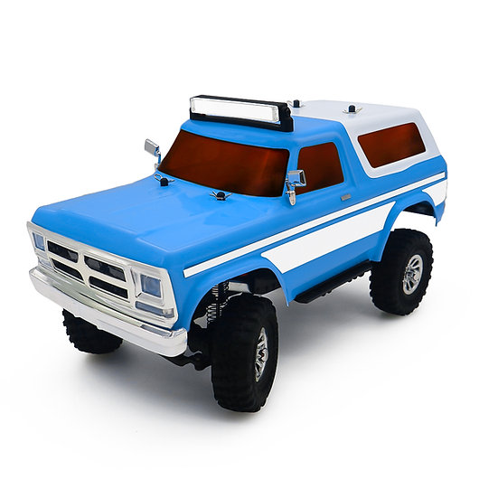 Tetra X2 1/18 Scale Crawler RTR 4WD Off-road Vehicle, Blue/White