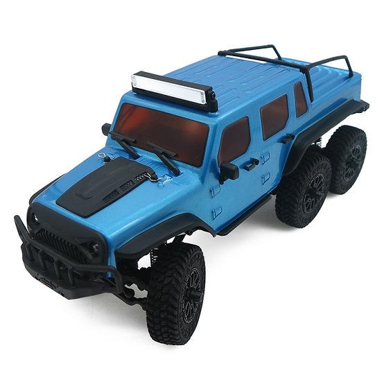 1/18 Tetra18 X1 6X6 RTR Scale Mini Crawler, blue