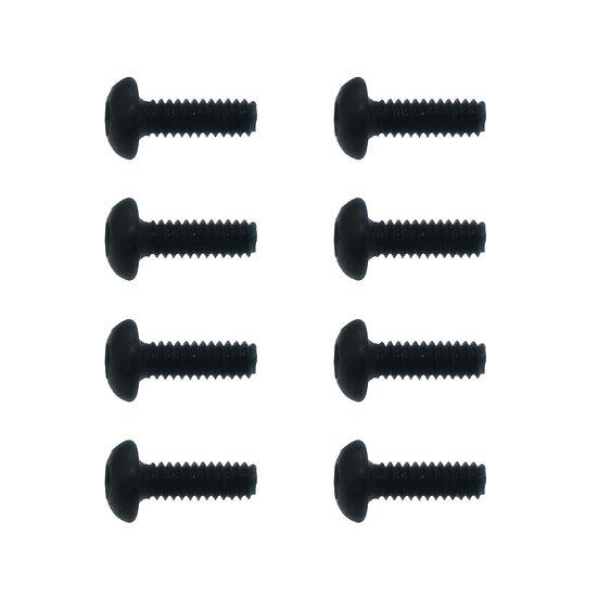 Button Head Hex Screws 2x6mm(8)