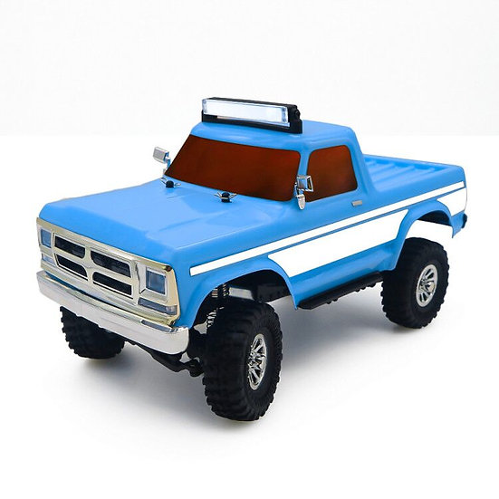 Tetra X2T 1/18 Scale Crawler RTR 4WD Off-road Vehicle, Blue/White