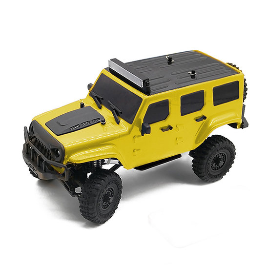 Tetra X1 1/18 Scale Crawler RTR 4WD Off-road Vehicle, Yellow