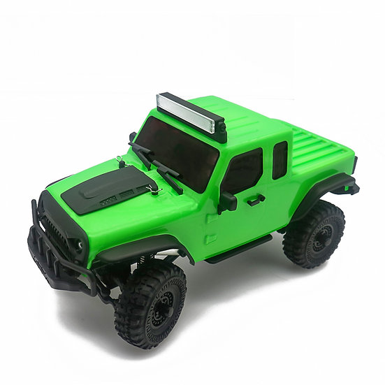 Tetra X1T 1/18 Scale Crawler RTR 4WD Off-road Vehicle, Green