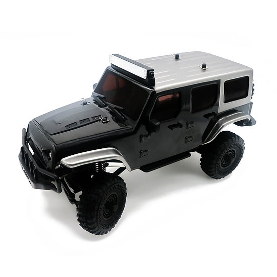 Tetra X1 1/18 Scale Crawler RTR 4WD Off-road Vehicle, Black