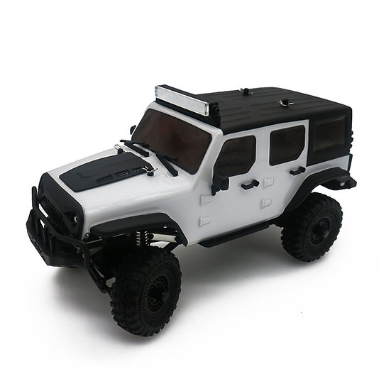 Tetra X1 1/18 Scale Crawler RTR 4WD Off-road Vehicle, White