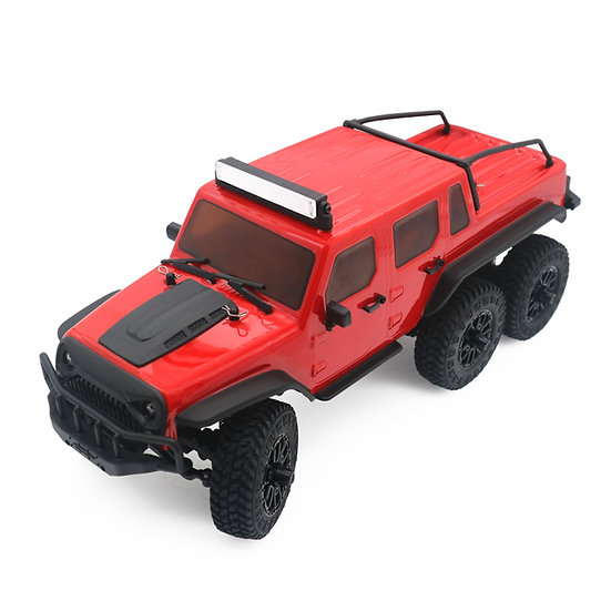 1/18 Tetra18 X1 6X6 RTR Scale Mini Crawler, red