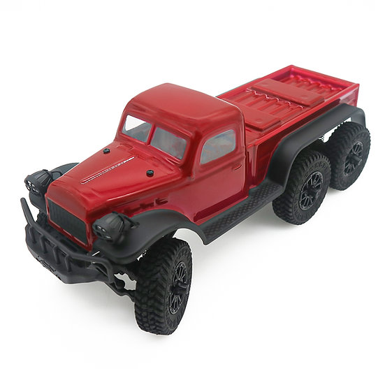 1/18 Tetra18 K1 6X6  RTR Scale Mini Crawler, maroon
