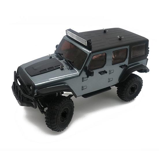 Tetra X1 1/18 Scale Crawler RTR 4WD Off-road Vehicle, Gunmetal Grey