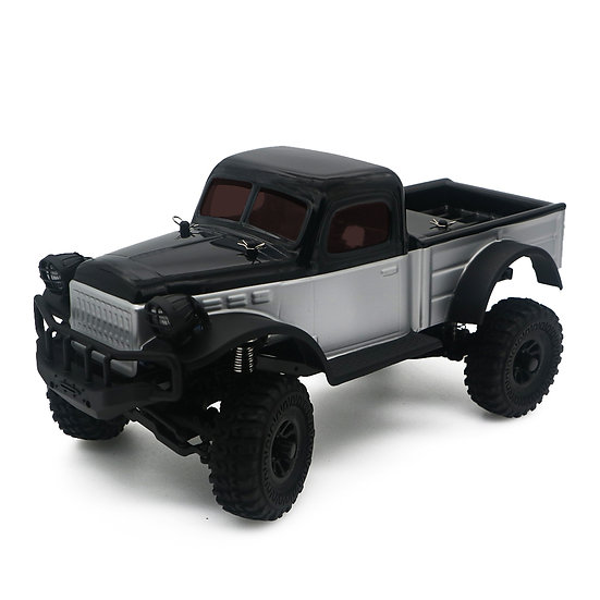 Sport Tetra K1 1/18 Scale Crawler RTR 4WD Off-road Vehicle, , Silver/Black