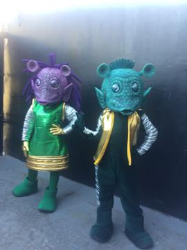 Mascotes espaciais