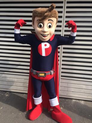 Mascote Heroizinho