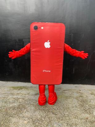 Mascote Iphone
