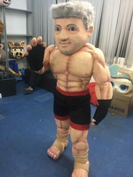 Mascote lutador