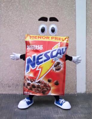 Mascote Nescau