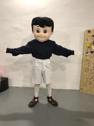 Mascote Menino
