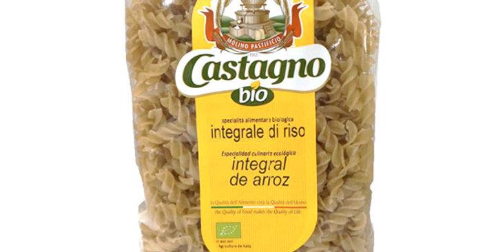 ESPIRALES DE ARROZ INTEGRAL CASTAGNO 500 GR.
