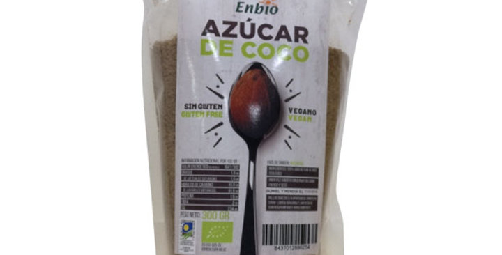 Azúcar de coco Enbio