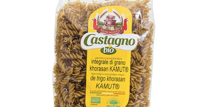 ESPIRALES DE KAMUT CASTAGNO 500 GR.